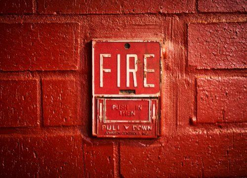 fire-alert-wall